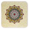 Kép 2/3 - Zöld lótusz mandala poháralátét szett