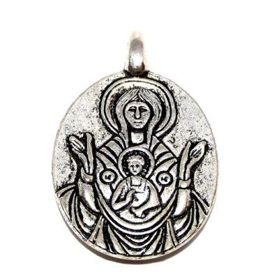 Vatikáni Szűz Mária és Kis Jézus medál