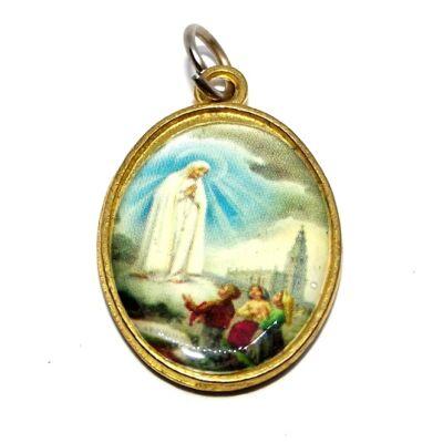 Szentképes medál, Mária és Jézus