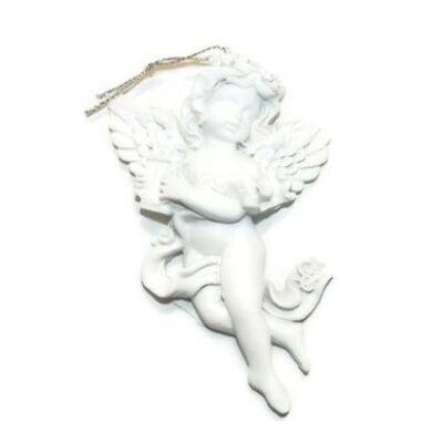 Akasztós angyalka hárfával – balos