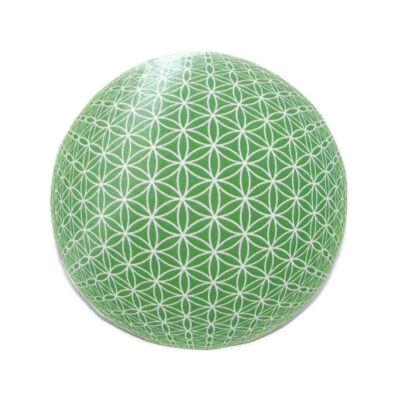 Hűtőmágnes Mandala - Élet virága, zöld