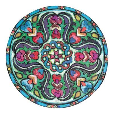 Mágnes/poháralátét Mandala - Állandóság