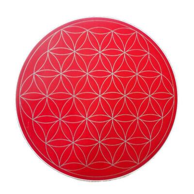 Mandala matrica - Élet virága piros