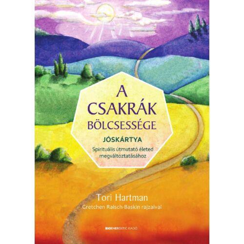 Tori Hartman - A csakrák bölcsessége - Jóskártya díszdobozban