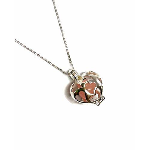Angyalhívó csengő ezüst - Szív