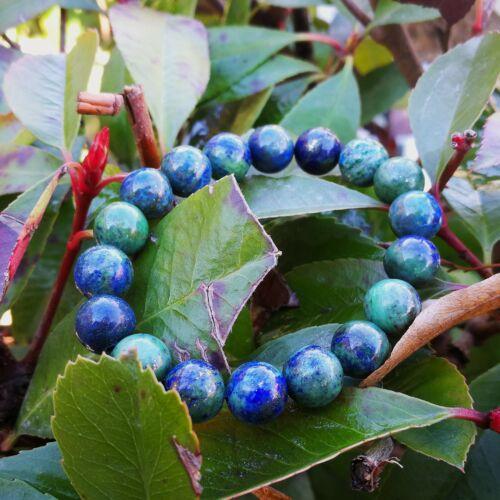 Kvarc Lapis Lazuli karkötő 10 mm, festett