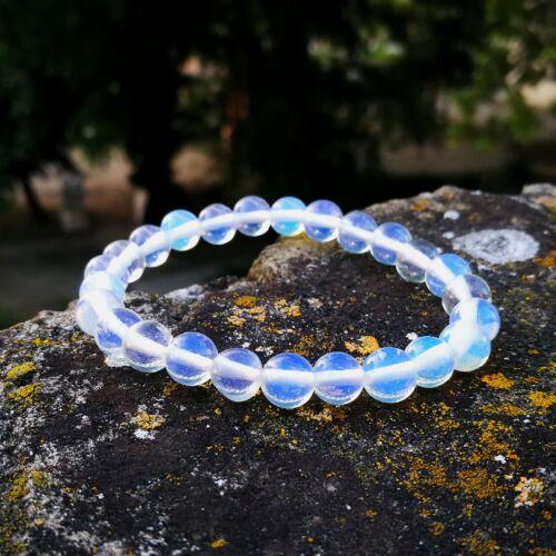 Opalit karkötő 8 mm