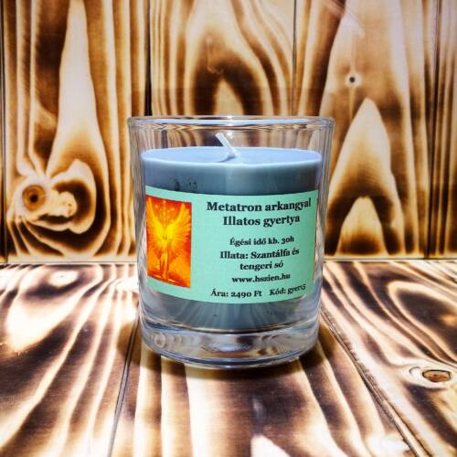 Metatron arkangyal illatos gyertya