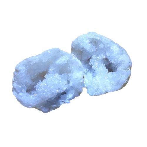Hegyikristály geóda pár - kicsi