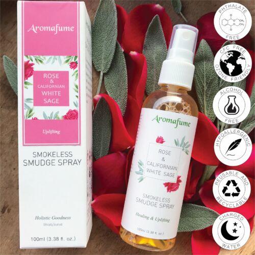Aromafume - Rózsa - White Sage/Fehér zsálya Tér- és auraharmonizáló, töltő spray