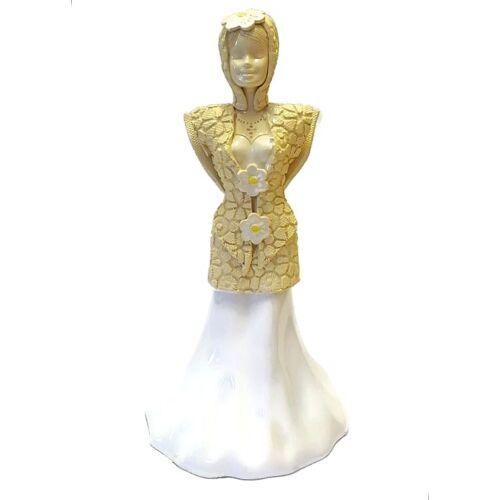 Fény angyala - Kézműves kerámia szobor