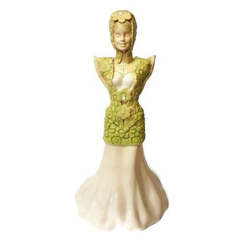 Természet angyala - Kézműves kerámia szobor