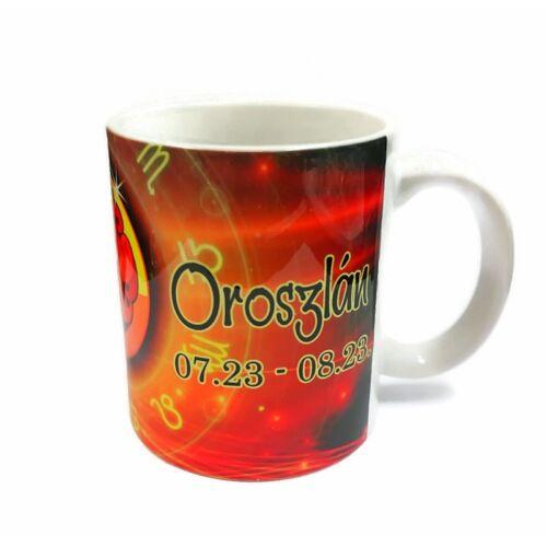 Horoszkópos bögre - Oroszlán