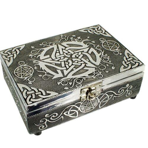 Pentagrama motívumos doboz