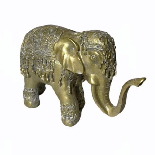 Elefánt szobor - arany
