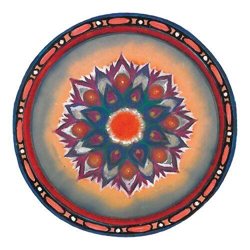 Mágnes/poháralátét Mandala - Anyagi bőség