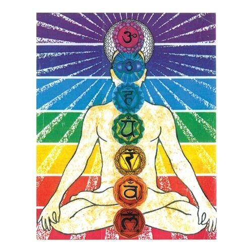 Mágnes/poháralátét Mandala - Csakra energetizáló