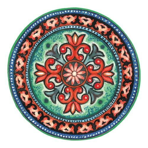 Mágnes/poháralátét Mandala - Szerelem