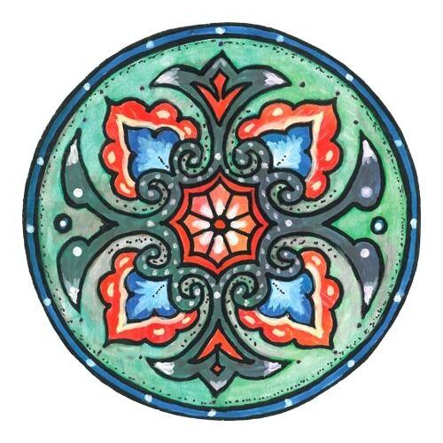 Mandala matrica - Egészségmegőrző