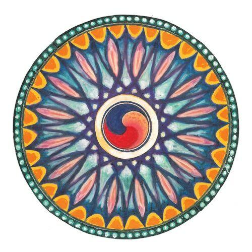 Mandala matrica - Az élet csírája