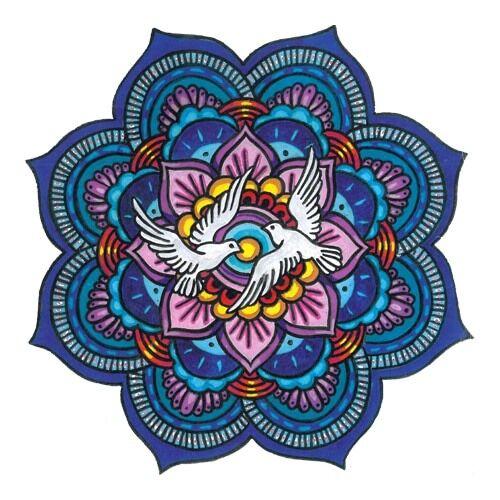 Mandala matrica - Békesség