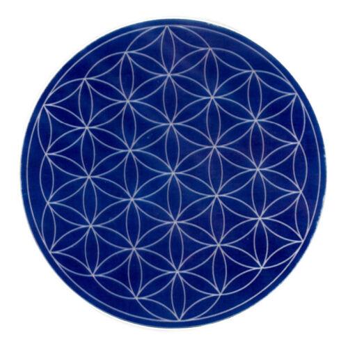 Mandala matrica - Élet virága kék