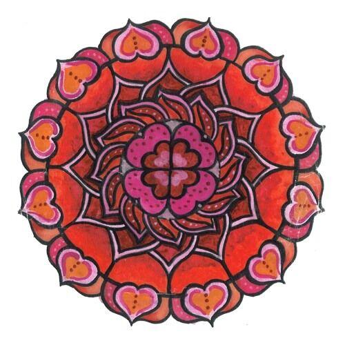 Mandala matrica - Szerelem