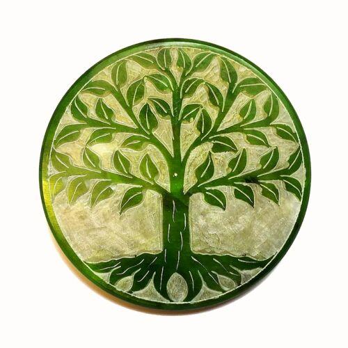 Életfa poháralátét - zsírkő