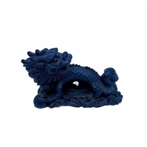 Sárkány figura - fekete kicsi