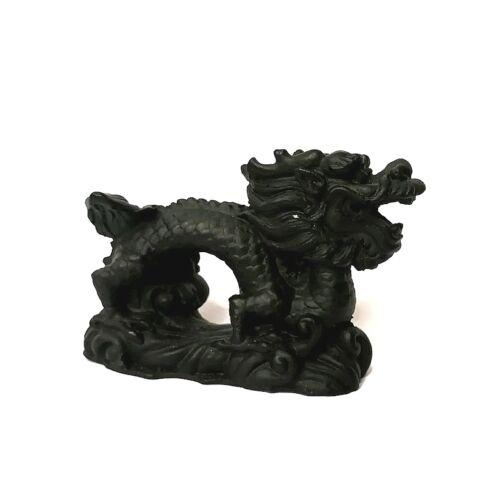 Sárkány figura II. - fekete kicsi