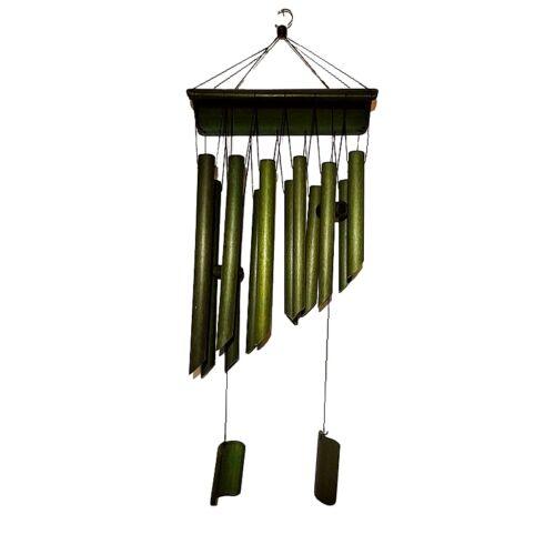 Dupla soros bambusz szélcsengő