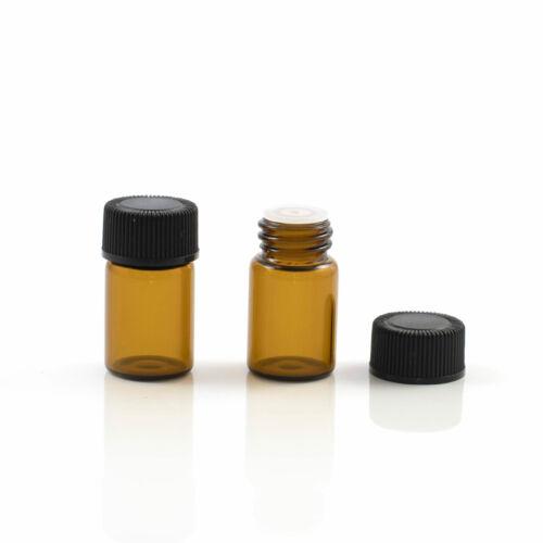 Cseppentős üvegcse - 2 ml - barna